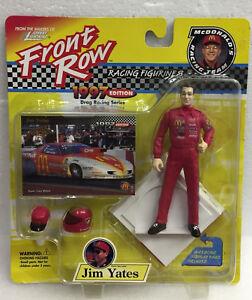 1997 Johnny Lightning FRONT ROW Jim Yates Figure Drag Racing Series-NIB