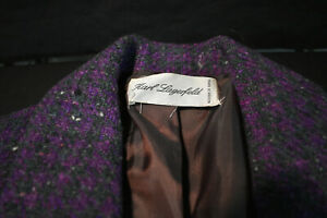 Vintage Karl Lagerfeld Womens jacket - Made in France - Beautiful