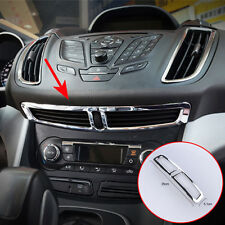 Chrome Front Air Vent Outlet Cover Trim Bezel For Ford Escape Kuga 13-16 14 15