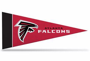 "Atlanta Falcons NFL Mini Pennant 9""x4"", New, Felt, Made in USA Banner"