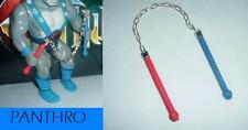 ThunderCats Panthro's Nunchucks Hand Made Toy Weapon NEW - Silver Chain