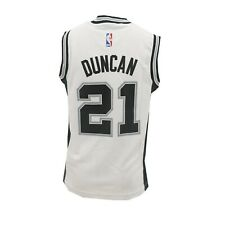 San Antonio Spurs Official NBA Adidas Kids Youth Size Tim Duncan Jersey New Tags