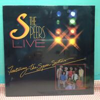 NEW! - THE SPEERS - LIVE -FEATURING THE SPEER SISTERS - Vinyl LP Record (1983)
