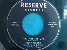 Hear Rare Popcorn 45 : Bobby Nichols ~ Oh Lord, Give Me Back My Rib ~ Reserve