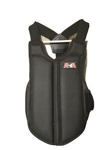 ATA Karate Taekwondo Chest Guard Protector Sparring Gear Padding Vest Child Med.