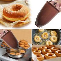 Plastic Donut Making Machine Mold DIY Tool Kitchen Pastry Making Bake Ware