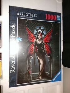 Ravensburger Gothic Fantasy Red Fairy Anne Stokes 1000 Piece  SoftClick Puzzle