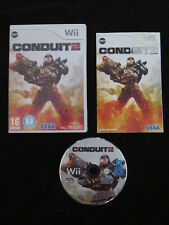 WII : THE CONDUIT 2 - Completo, ITA !  Compatibile con Wii U