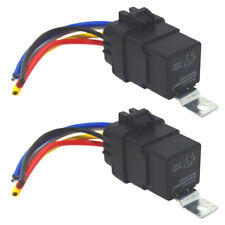 40Amp Waterproof IP67 5-pin Relay Switch with Harness Set (2-Pack)