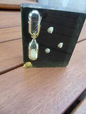 Sympa ancien sablier des 70's dit inclusion deco marine vintage timer N°3