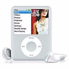 Apple iPod Nano 3rd Generation Silver (4Gb) Good Condition