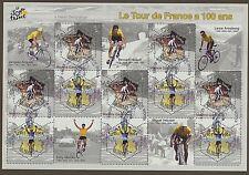 Frankreich 3724/25 gestempelt / Klbg. Tour de France (9408) ....................