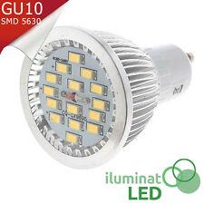 Bombilla Dicroico GU10 LED 15 SMD 5730 Blanco Puro 110V~240V AC - Consumo 7W