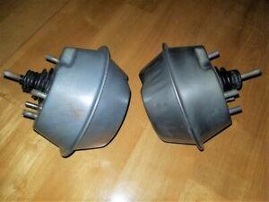 pair ORIGINAL 1968 1969 Corvette headlamp, light vacuum actuators, 1/4 inch hose