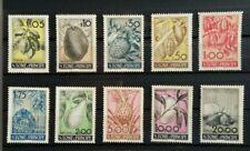 São Tomé and Príncipe 1948 fruits set Mi 352-361 Sc 341-350 MNH minor gum faults