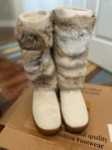 Pajar Fur Winter Boots Size 40 -9med