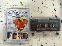 Corazon Latino Tape Kassette Los Hotdogs Armando Manzanero Atahualpa Amaury