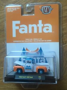 M2 MACHINES FANTA 1956 FORD F-100 TRUCK 1 of 3000 Limited Edition