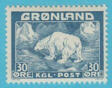 Greenland 7 Mint Never Hinged Og * No Faults Extra Fine !