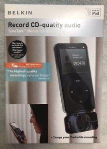 NEW Belkin TuneTalk™ Stereo for iPod®