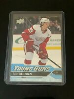 2016-17 Upper Deck Series 2 Young Guns #471 Tyler Bertuzzi RC RED WINGS Rookie