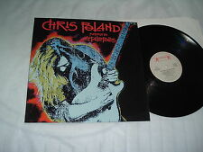 CHRIS POLAND Return To Metalopolis '90 LP ex-MEGADETH !!! ORIGINAL IMPORT  MINT-