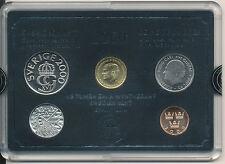 Svezia/Sweden-KMS 4 monete da 2000 + MEDAGLIA-Set di UNC-Sveriges mynt
