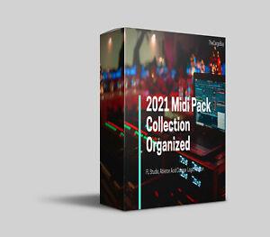 2021 Midi Pack Collection Organized FL Studio, Ableton Acid Cubase  Logic Reason