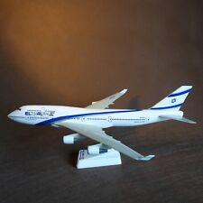 1/200 EL AL Israel Airlines Boeing B747-400 Airplane Model