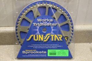 Sunstar Works Aluminum Sprockets Kawasaki KX250 450 5-361953 4165 G1