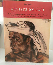 Artists on Bali by Ruud Spruit (1997, Paperback)