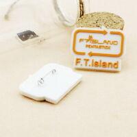2pics FTISLAND F.T.ISLAND PINS BADGES GOODS KPOP NEW