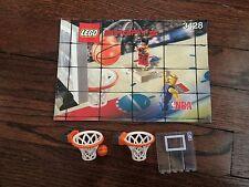 LEGO NBA BASKETBALL Instructions / Manual for Set 3248 + Hoops, Ball & Backboard