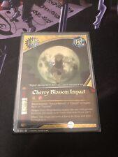 Naruto Cards TCG CCG Cherry Blossom Impact 581 SUPER RARE COMBINED SHIPPING