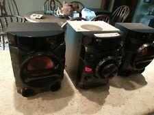 LG Audio System CM4360 Mini Hi-Fi CD Player Radio Bluetooth USB w Remote
