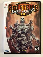 Street Fighter 3rd Strike - Sega Dreamcast - Replacement Case - No Game