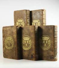 BERNIER - Abrégé de la philosophie de Gassendi 1678 - Reliures aux armes