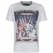 Diesel Cotton V Neck Fitted T-Shirts for Men