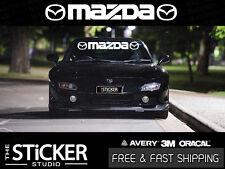 Mazda Windshield Logo RX7 RX8 mazda 3 6 CX 3 5 7 9 MX 5 BT 50