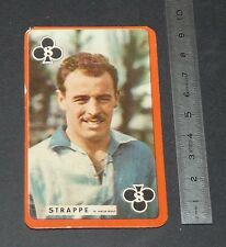 FOOTBALL CARTE PHOTO ANDRE STRAPPE LE HAVRE ATHLETIC CLUB HAC 1959-1960