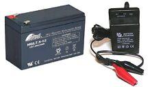 Giocattolo Batteria auto e caricabatterie COMBO 12V 7,5 Ah Batteria & 12 VOLT CARICABATTERIE