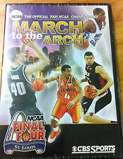 Official 2005 NCAA Final Four - March To The Arch (DVD) BRAND NEW!