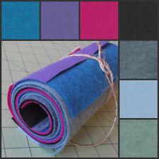 6x12 Wool Felt Sheets - 80's Funk- 7 Sheets of Merino Felt