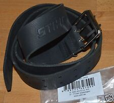 Genuine Stihl Black Leather Belt Tool Chainsaw Work Trousers Motorbike Tracked