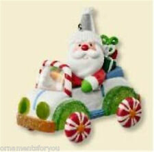 Hallmark 2007 Santa's Sweet Ride NIB Ornament