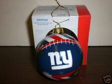 NY Giants Forever Collectibles Hand Painted Ornament