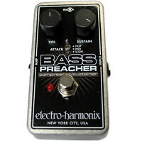 Electro-Harmonix Bass Preacher Compressor / Sustainer Guitar Effects Pedal