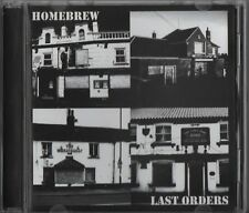 Homebrew - Last Orders (CD 2012) Yorkshire Cider Punks Chaos UK King For A Day