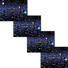 SET OF 4 Thank you cards - Yayoi Kusama Infinity Mirrored Room #1 - Blank inside