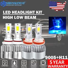 LED Headlight Bulb for 2007-2017 Toyota Camry High Beam 9005+Low Beam H11 Kit US